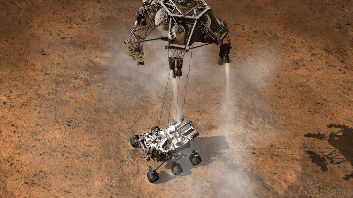 curiosity landing
